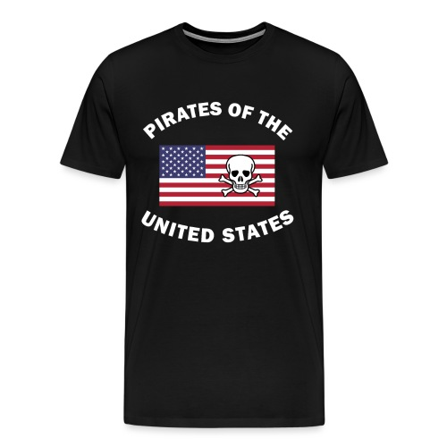 Pirates of the United States - Männer Premium T-Shirt