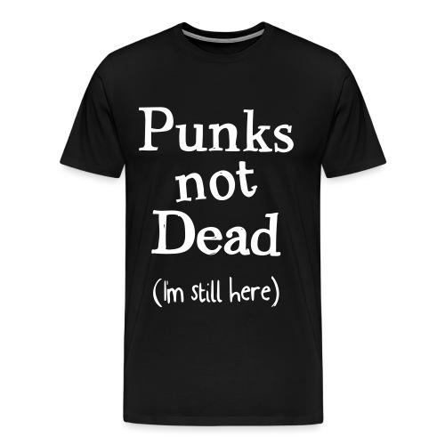 punks not dead - Premium-T-shirt herr