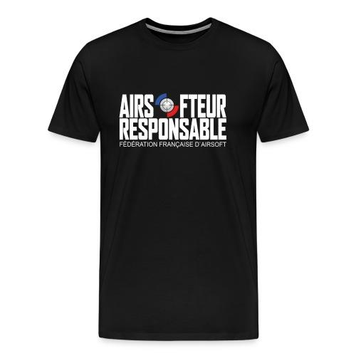 Airsofteur Responsable - T-shirt Premium Homme