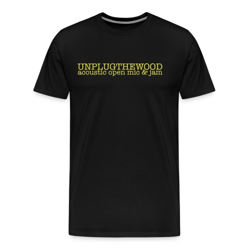 Unplug The Wood letterbox - Men's Premium T-Shirt