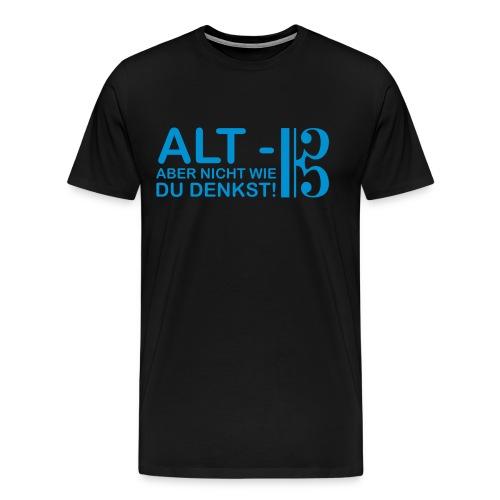 Alt Vektor - Männer Premium T-Shirt
