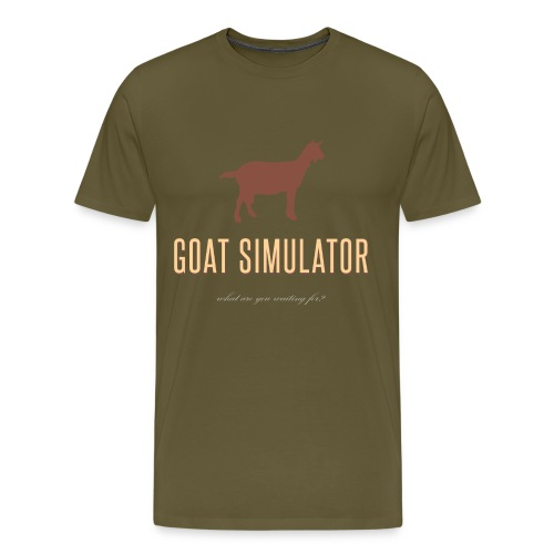 Goat Simulator - Men's Premium T-Shirt