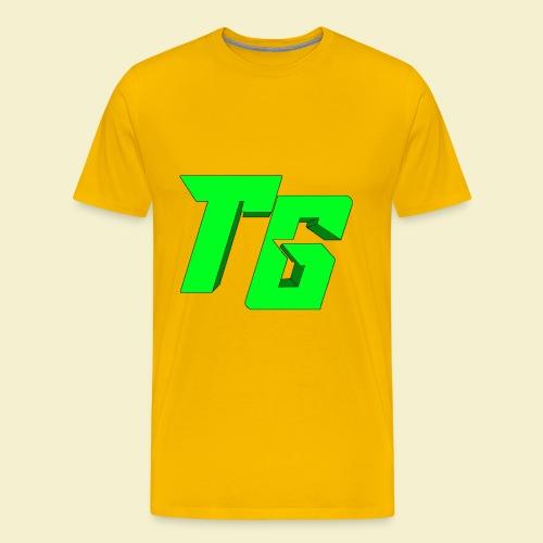 TristanGames logo merchandise [GROOT LOGO] - Mannen Premium T-shirt