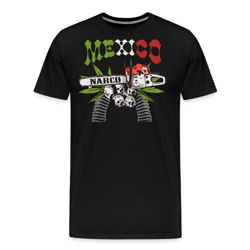MEXICO NARCO - Men's Premium T-Shirt