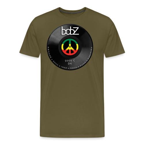 vinylbob - Herre premium T-shirt