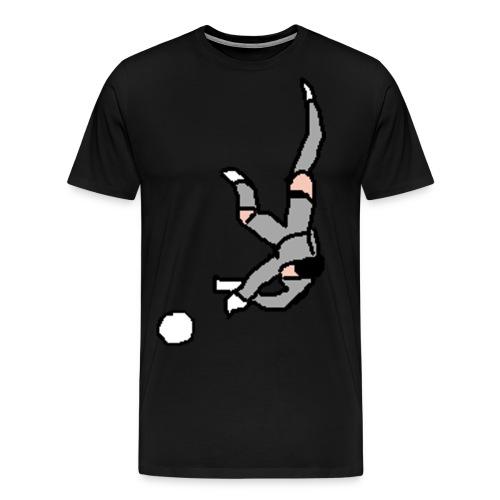 portiere grigio - Maglietta Premium da uomo