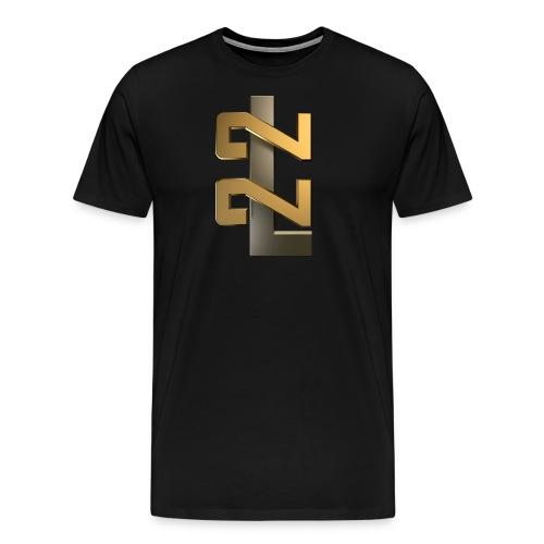 L22 Classic Logo - Premium-T-shirt herr