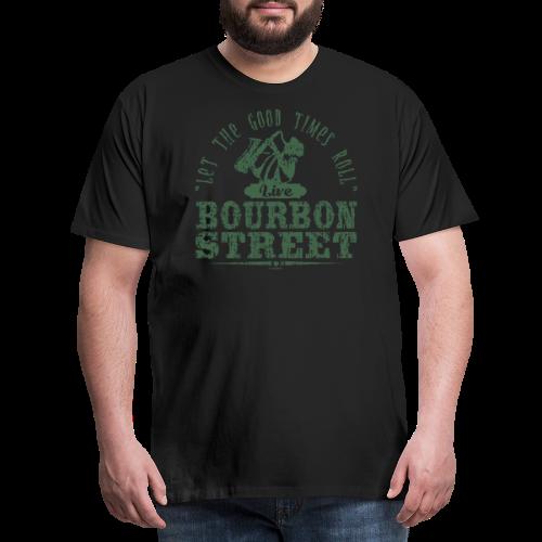 15-9 LIVE BOURBON STREET TEKSTILES, GIFT WEBSHOP - Miesten premium t-paita