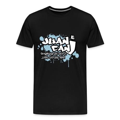 Juan can logo for spreadshirt - Men's Premium T-Shirt