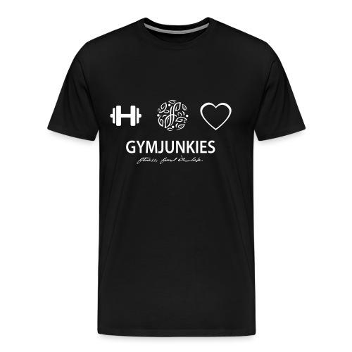 -Fitness, Food & Love- tasje - Mannen Premium T-shirt