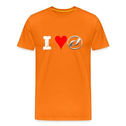 I Love Daelim TShirt (Daelim Logo, Männer) - Männer Premium T-Shirt