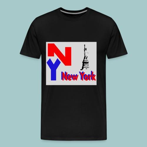 NY - Maglietta Premium da uomo