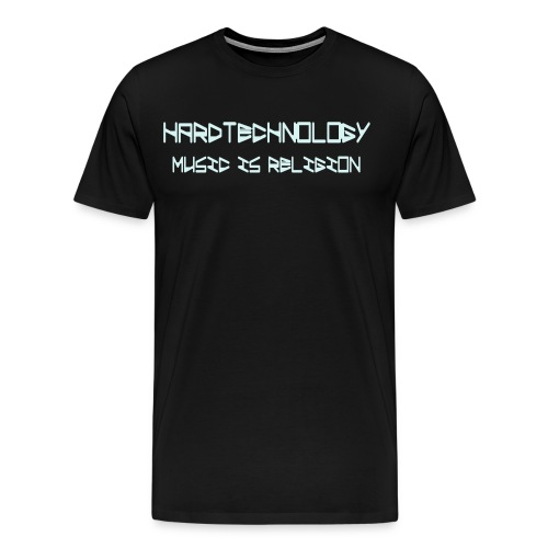 music is religion - Männer Premium T-Shirt
