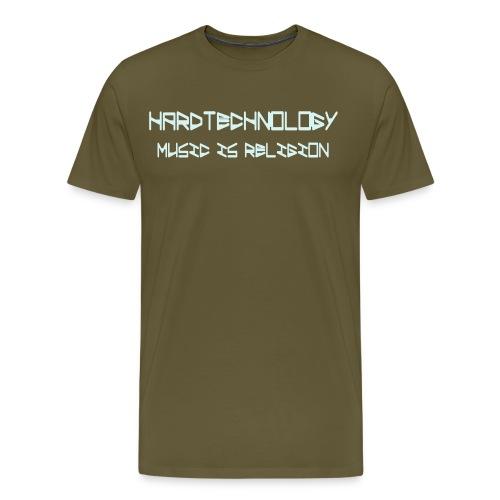 music is religion - Männer Premium T-Shirt