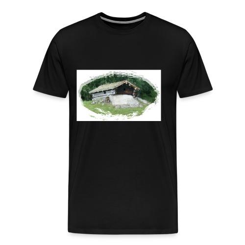 ivarstua d1 - Premium T-skjorte for menn