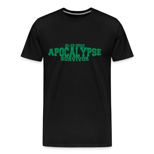 Apocalypse Survivor - Mannen Premium T-shirt