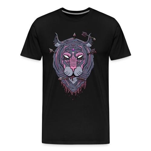 Galaxy tiger - Mannen Premium T-shirt