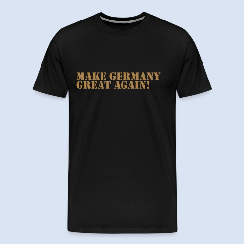 Make Germany Great Again - Donald Trump Design - Männer Premium T-Shirt