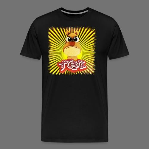 Cute Hund - Herre premium T-shirt