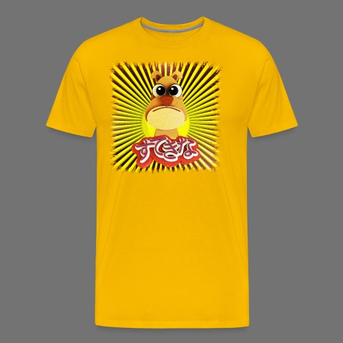 Söpö koira - Miesten premium t-paita