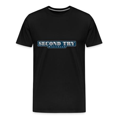2ndtrylogo - Männer Premium T-Shirt