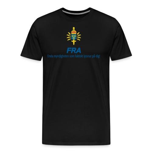 FRA png - Premium-T-shirt herr