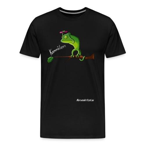 kammaeleon weiss - Männer Premium T-Shirt