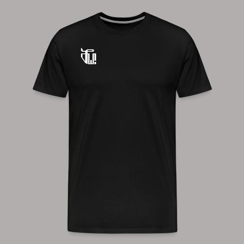 Zirkel, weiss (vorne) Zirkel, r w g (hinten) - Männer Premium T-Shirt
