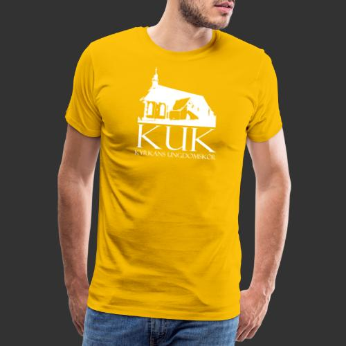 KUK Kyrkans UngdomsKör - Premium-T-shirt herr