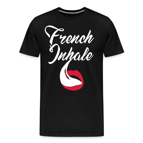 French Inhale - Männer Premium T-Shirt