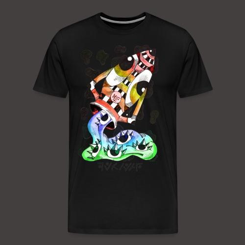 Verseau multi-color - T-shirt Premium Homme