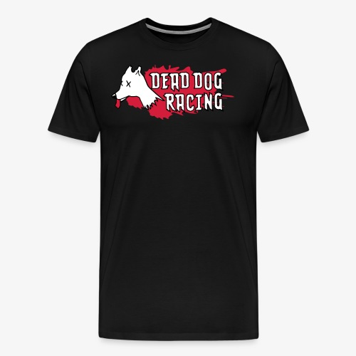 Dead dog racing logo - Men's Premium T-Shirt