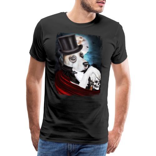 Gothic Dog #2 - Maglietta Premium da uomo