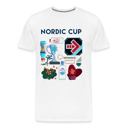 Nordic 2018 - Miesten premium t-paita