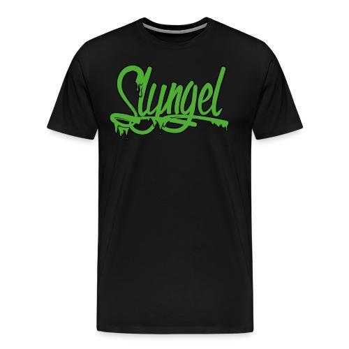 Slyngel Slime Green - Premium T-skjorte for menn