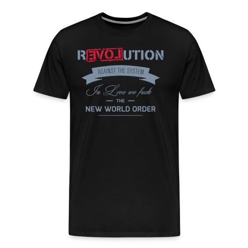 Revolution - Männer Premium T-Shirt