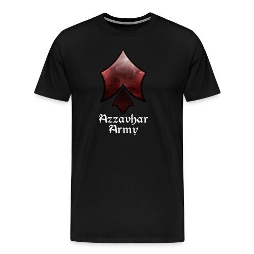 Azzavhar Army Insignia - Men's Premium T-Shirt