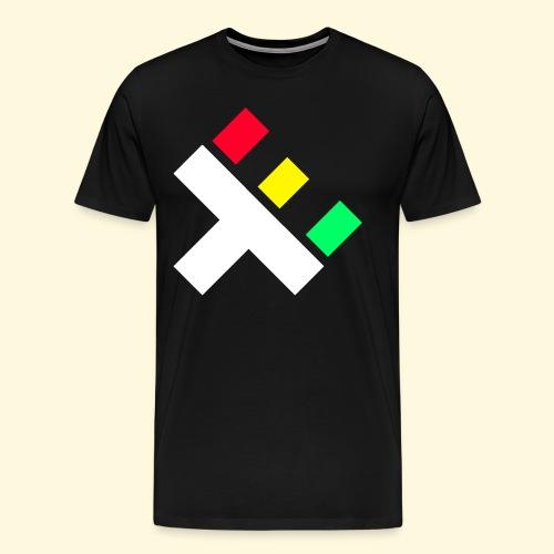 Clan Logo - Rasta - Men's Premium T-Shirt