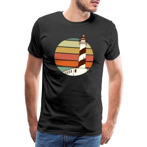 faro vintage - Camiseta premium hombre