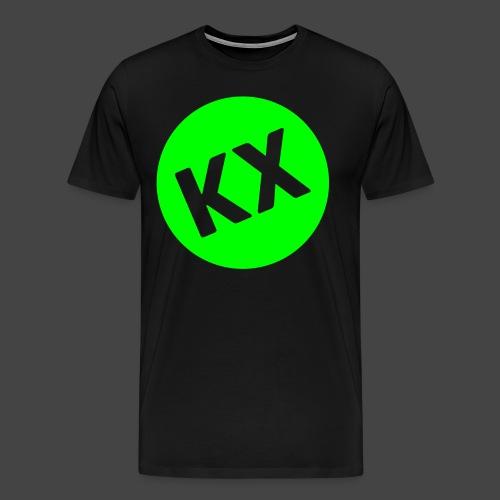 kx-round-plain - Männer Premium T-Shirt