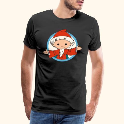 Sandmännchen Hallo! im Kreis - Männer Premium T-Shirt