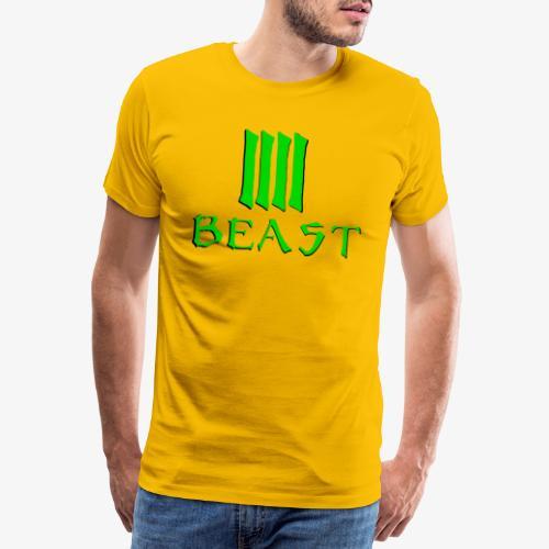 Beast Green - Men's Premium T-Shirt