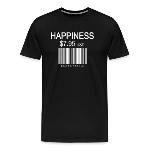 Glücklicher Strichcode - Männer Premium T-Shirt