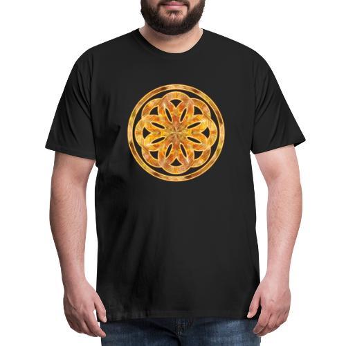 Spirituelles Zeichen - Blume des Lebens :-) - Männer Premium T-Shirt