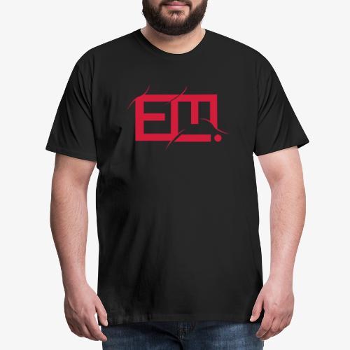 red emmiej logo - Men's Premium T-Shirt