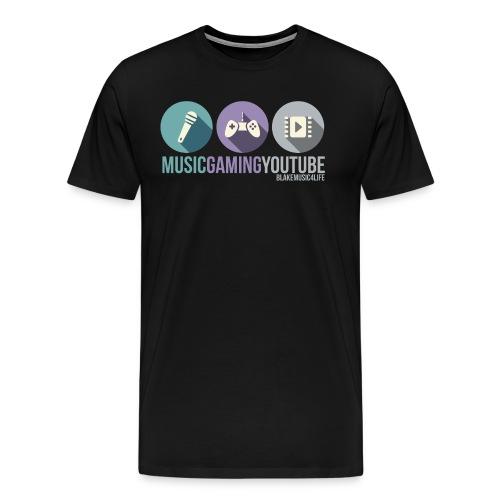 musicgamingyoutube - Men's Premium T-Shirt