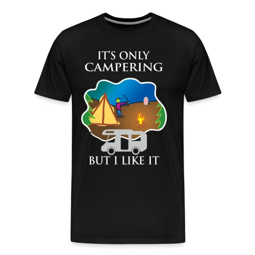 To tylko campering, ale to lubię - Koszulka męska Premium