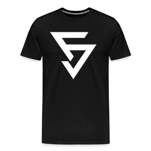LogoFJBlanc - T-shirt Premium Homme