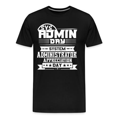 1SysAdminDay V2 - Männer Premium T-Shirt