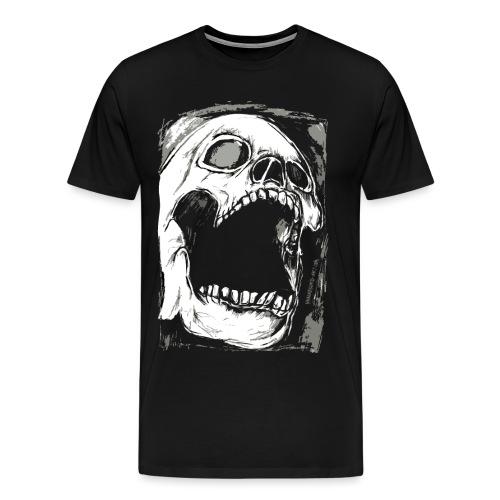 Schädel |. von Absurd ART - Männer Premium T-Shirt